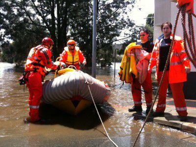 SES Queanbeyan flood 2010