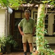 Loving life down on the farm... David Watson