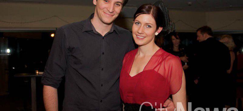Ryan Murphy and Courtney Lawless