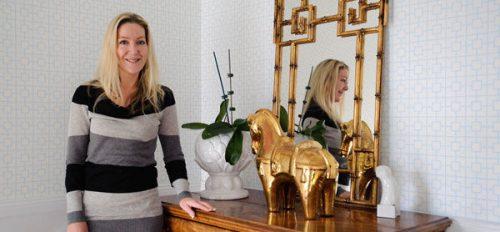 Interior designer Erin Cain