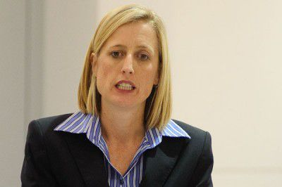 """Chief Minister Katy Gallagher says an increase in rates is """"a standard practice"""""""