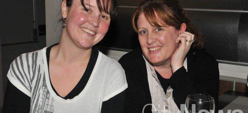 Rachael Thrift and Lyn Comber