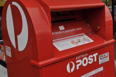 Australia Post, post box