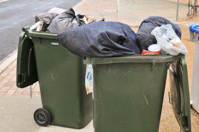 rubbish, bin, trash