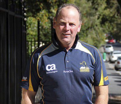 Newcomer Jake White's not off to coach England any time soon. TIM GAVEL looks at the man the town is pinning its hopes on to rebuild the  Brumbies