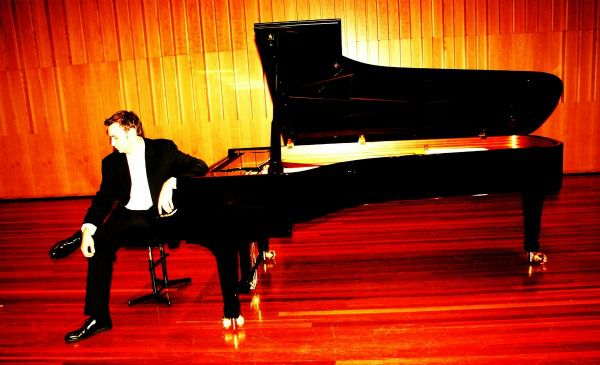 Pianist Andrew Rumsey... Wesley Music Centre's Lunchtime Live series, August 17.