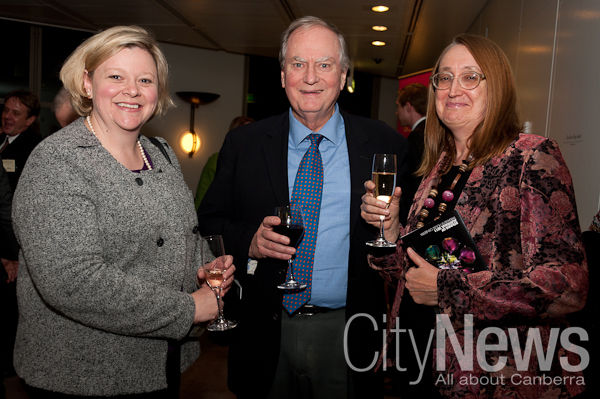 Catherine Robinson, Andrew Pike and Dr. Susan West