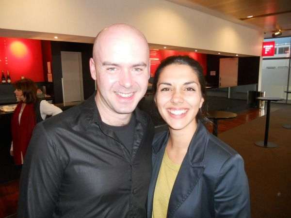 Canberra's Short+Sweet director Jarrad West with Short,Sweet+Dance director Adelina Larsson at last week's launch of Short+Sweet short play festival.