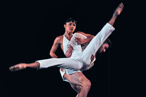 Sydney Dance Company's Charmene Yap and Richard Cilli. Photo by Silas