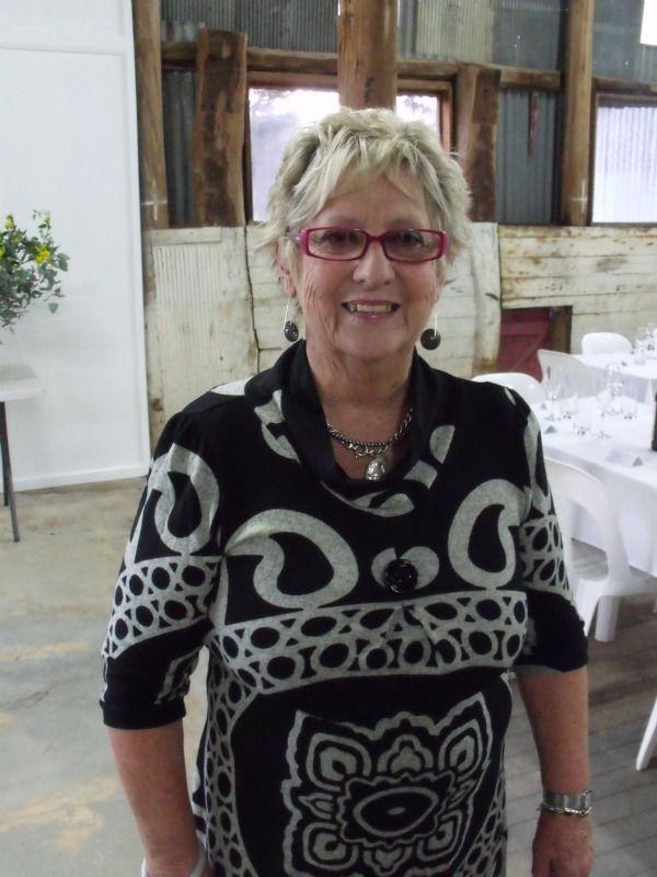 Strathnairn president Anita McIntyre.