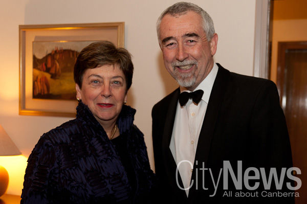 The Hon. Dr Kay Patterson and Gary Humphries