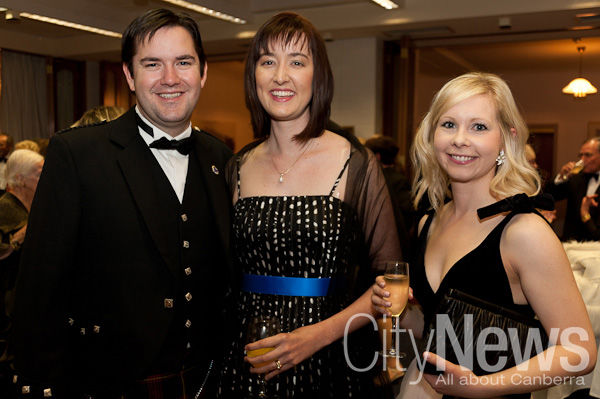 Tom and Helen Watson with Amelia McManus