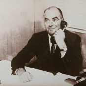 Founding general manager from 1958-1979, George Barlin.