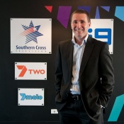Jeremy Flynn, Southern Cross Ten's general manager for television operations. Photo by Silas Brown.