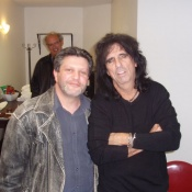 Frog with Alice Cooper.
