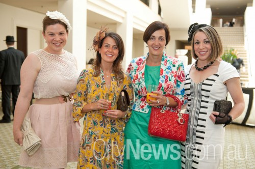 Christine Havas, Emily Tzanetos, Harriet Noutsopouolos and Helena Karkazis