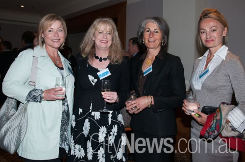 Diana Ryan, Zoe Phillips, Therea Orme and Dianna Evans
