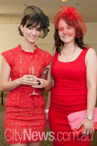 Jess Ausserlechner and Sally Morgan
