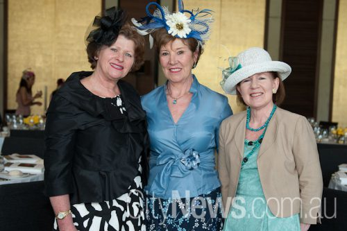 Karen Borehan, Liliane Wallace and Elizabeth Deveze