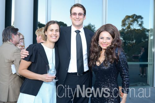 Liesl Bouwer, Sebastien Wilson and Mary Coustas