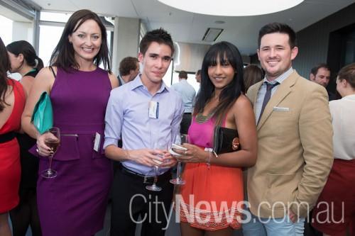 Melanie Hindson, James Owen, Vinni Raman and James Davis