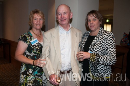 Michelle and Tony Clarke with Susie Beaver