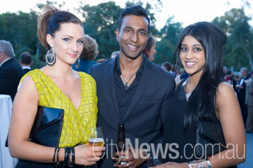 Sarah Nicole with Shehan and Sarah Jesudason