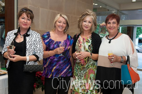 Aleta Williams, Louise Gruber, Julie Cassidy and Franca Redden