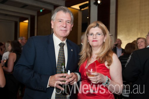 Ambassador of Uruguay Alberto Fajardo and Lisa Bell