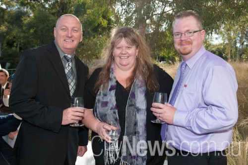 Brian Frost, Karen Mawhinney and Paul Kelly