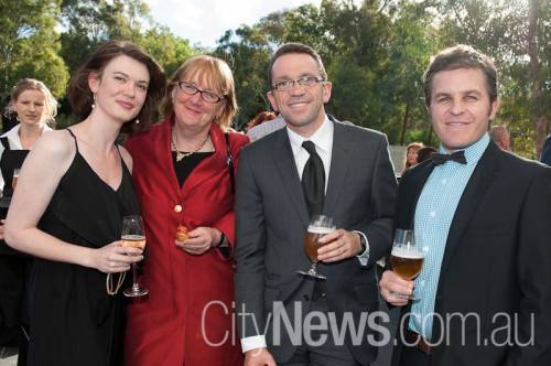 Carolyn Jeffress, Louise Douglas, Ricky Bryan and Geoff Odgers