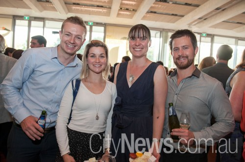 Chris and Jenna Breaden with Diana and Chris Hare