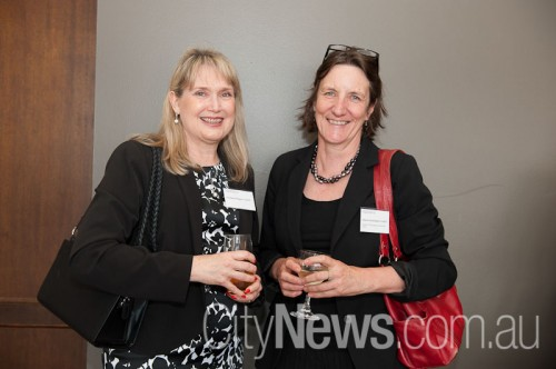 Christine Magner and Alison Carmichael