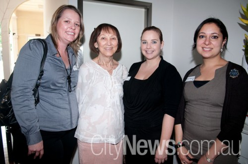 Clare Culross, Mabel Selongo, Deanne Kuhn and Rebecca Hanrahan