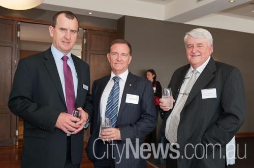 Phil Butler, David Marshall and Greg Fraser