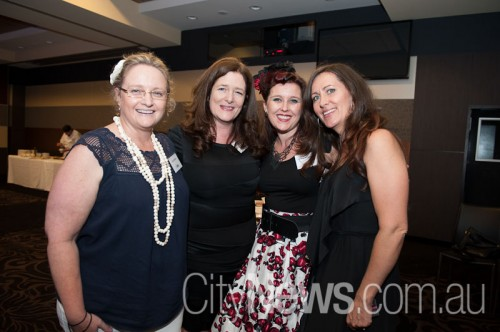 Julie Nichols, Catherine Carter, Rachel Evagalou and Laurie McDonald