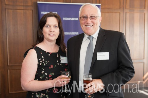 Linda Bennett and Noel Sutton