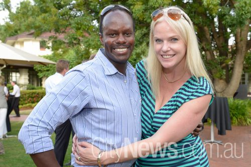 Melinda and Richard Kibukamusoke