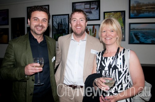 Nabil Adhami, Matthew McDonald and Lisa Goodwin