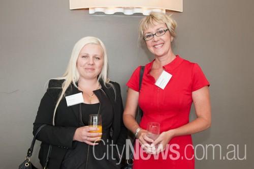 Nicole Mentha and Edwina Mackay