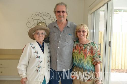 Annmarie Kocholla, Michael Caton and Elfie Gahan