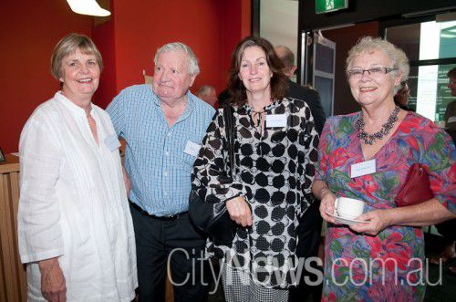 Diana Gourley, Bill Butler, Cathy Hartigan and Anne Buttsworth