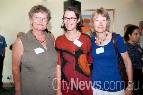 Dr Denise Kraus, Dr Liz Fraser and Dr Cathy Schmidli