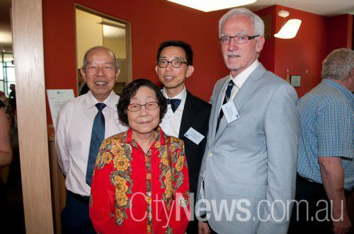 Thong Soo, Fui Yin Ho, Dr Tuck Meng Soo and Paul Hartigan
