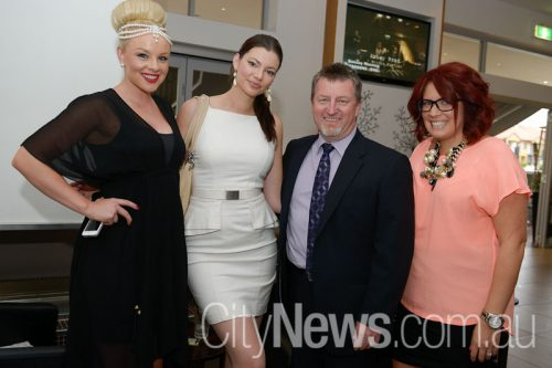 Brittney McGlone, Laura Edwards, David Gambrill and Carla Bignasca