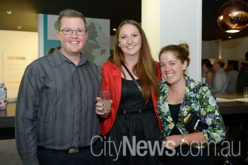 Bryan Bennett, Mel Leach and Bernadette Sainsbury