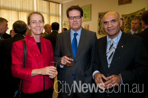 Chief of Protocol Sally Mansfield, Turkish ambassador Reha Keskintepe and Amin Saikal SNB_9758