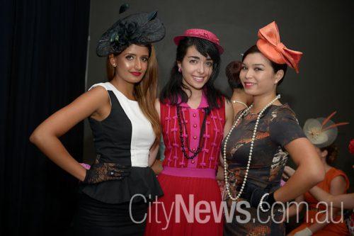 Divya Chapra, Jessica Adelan and Teresa Tranzillo