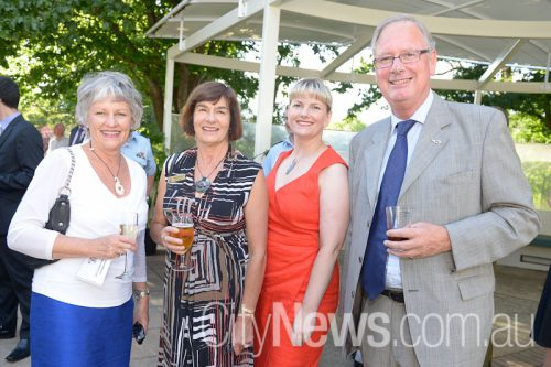 Dorothy Charles, Elizabeth Hedgley, Jane Turner and Nick Charles