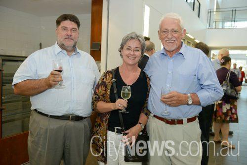 Doug Newman, Pamela Kinnear and Stephen Mugford